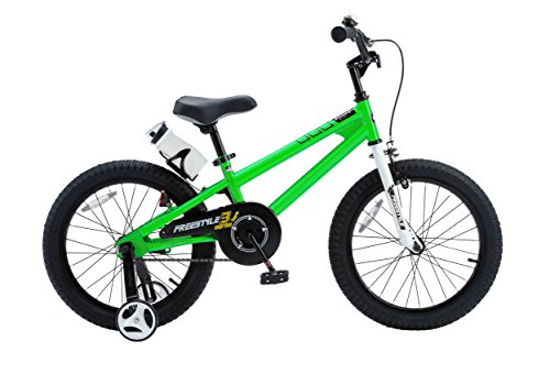 Royalbaby RB18B-6G BMX Freestyle Kids Bike, Boy's Bikes and Girl's Bikes with traini ...
