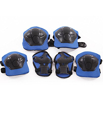 Kid's Sports Protective Gear Skating Roller Blading Wrist Knee and Elbow Pads Set Blades G ...