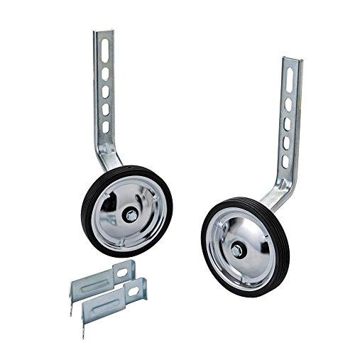 MORFAN Training Wheels for 12 14 16 18 20 22 Inch Bicycle,Kids Bike Stabiliser(STEEL)