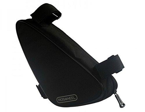 BicycleStore® Waterproof Triangle Bike Bicycle Frame Front Tube Pouch Bag Bike Triangular Bag wi ...