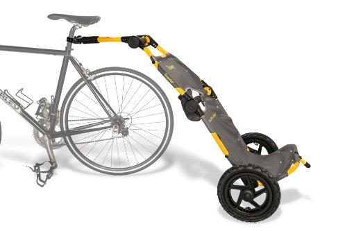 Burley Design Travoy Bike Trailer, Yellow