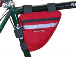 Bushwhacker Ketchum Red – Bicycle Frame Bag Cycling Triangle Pack Bike Under Seat Top Tube ...