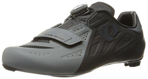 Pearl Izumi Men's Elite Road V5 Cycling-Footwear, Black/Shadow Grey, 42 EU/8.5 D US