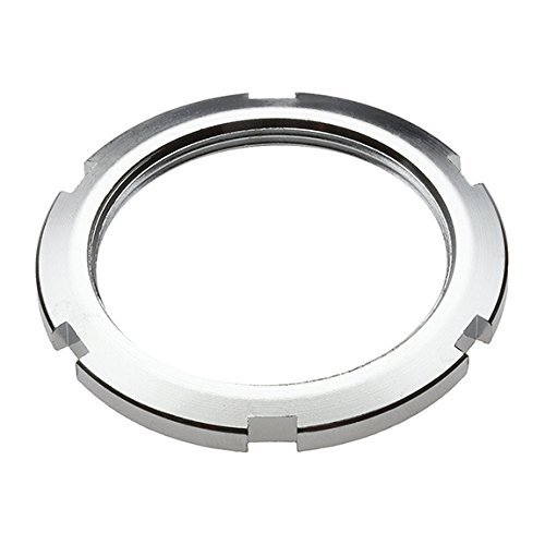 State Bicycle Fixed Gear/Fixie Bike Cog Lock Ring, Silver