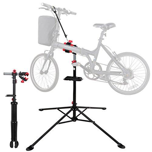 F2C Portable Adjustable 42.5″ to 74″ Pro Home Steel Maintenance Mechanic Bicycle Bik ...