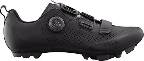Fizik X5 Terra Cycling Footwear, Black, Size 44.5