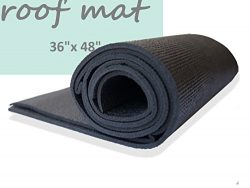 Roof Mat for Car SUV 36″x 48″ LARGE SIZE Non Skid Pad – ANTI-SLIP – SUPE ...