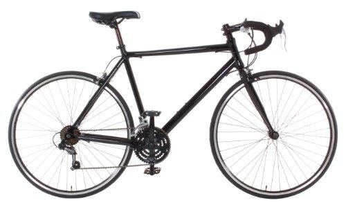 Vilano Aluminum Road Bike Medium (54cm) Commuter Bike Shimano 21 Speed 700c, Black