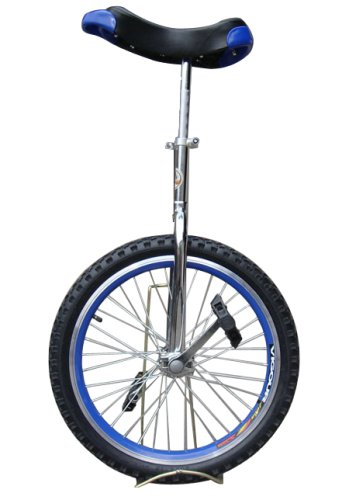Fantasycart Unicycle 20″ In & Out Door Chrome colored, Brand New!Great gift!!skidproo ...