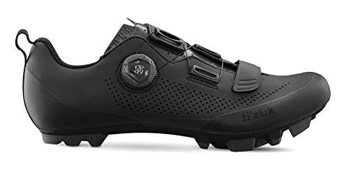 Fizik X5 Terra Cycling Footwear, Black, Size 43.5