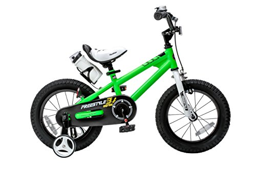 Royalbaby RB14B-6G BMX Freestyle Kids Bike, Boy's Bikes and Girl's Bikes with traini ...