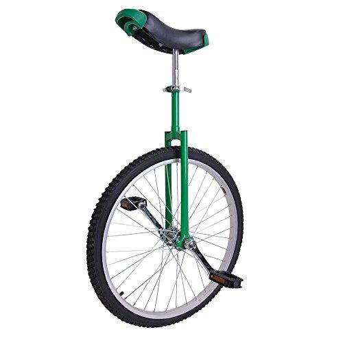 24 Inch Astonishing Green Mountain Bike In 24″ Wheel Frame Unicycle Cycling Bike With Comf ...