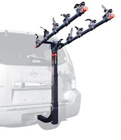 Allen Sports Deluxe 5-Bike Hitch Mount Rack with 2-Inch Receiver