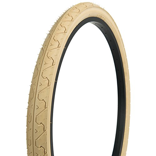 Kenda Tires K838 Commuter/Cruiser/Hybrid Bicycle Tires, Cream, 26-Inch x 1.95