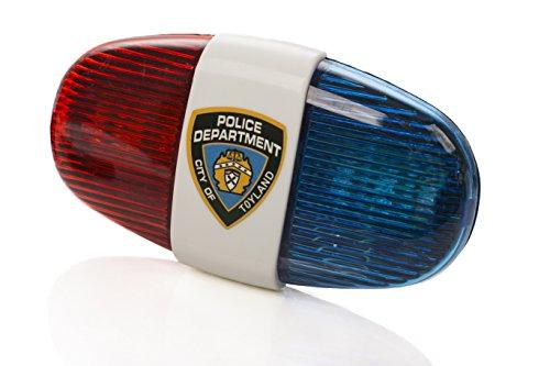 Kids Tech Bike LED light – Police Sound Light Electronic Horn – Bicycle Siren, 5 LED ...