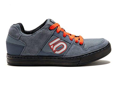 Five Ten Men's Freerider Cycling Shoe, Dark Grey/Orange, 11.5 M US