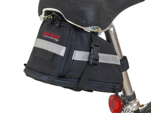 Bushwhacker Tacoma – Bicycle Expandable Seat Bag – w/ Reflective Trim & Light Cl ...