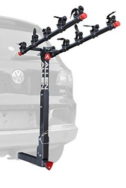 Allen Sports Deluxe Locking Quick Release 5-Bike Carrier for 2 in. Hitch