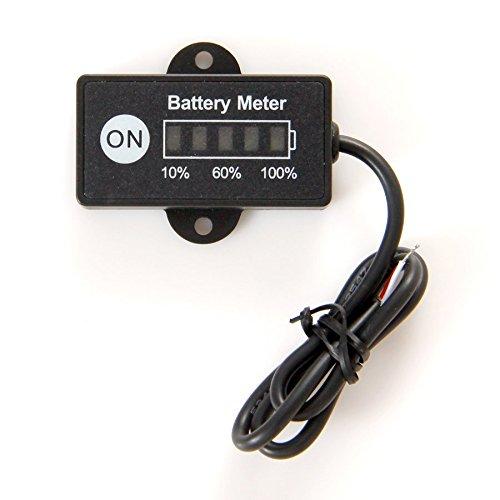 RL-BI005(Lead-Acid ) Battery Fuel Gauge Battery Meter 12V 24V Tester for car motorcycle e bike l ...