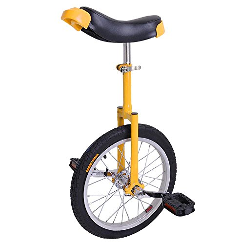 AW 16″ Inch Wheel Unicycle Leakproof Butyl Tire Wheel Cycling Outdoor Sports Fitness Exerc ...