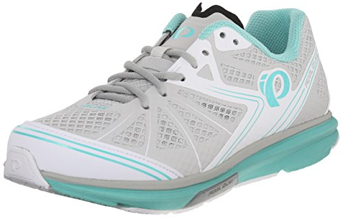 Pearl iZUMi Women's W X-Road Fuel IV Cycling Shoe, Aqua Mint, 42 EU/10 B US