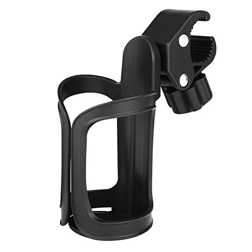 Upgrade Edition Universal Bike Cup Holder, Stroller Drink Holders by Accmor ,360 Degrees Univers ...