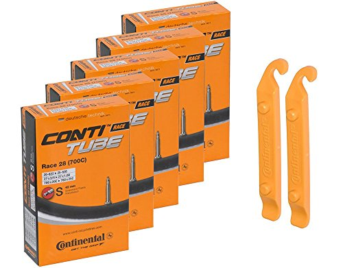 Continental Bicycle Tubes Race 28 700×20-25 S42 Presta Valve 42mm Bike Tube Super Value Bun ...