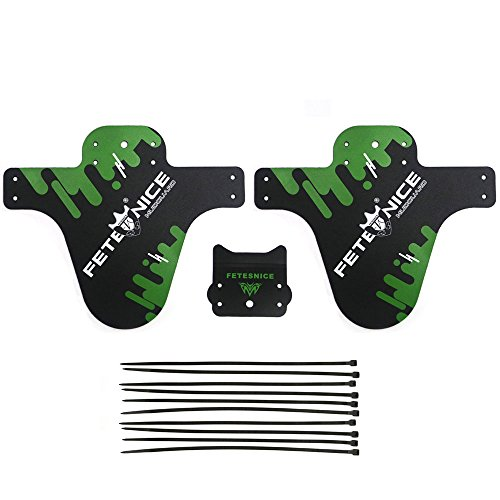 Colorful Bicycle Fenders Lightest MTB Front Mud Guards Tire Tyre Mud guard for Mountain BMX Raci ...