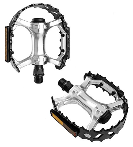 VP Components VP-747 Bear Cage Trap Old School BMX Pedal, Black, 1/2-Inch