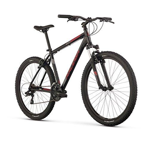 Raleigh Bikes Talus 2 Mountain Bike, 17″ /Md Frame, Black, 17″ / Medium