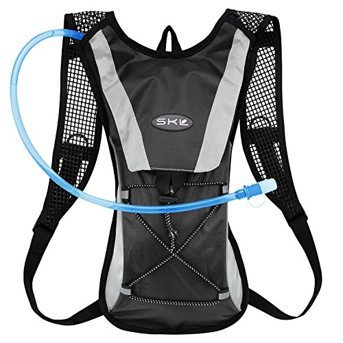 Hydration Pack Water Rucksack Backpack Bladder Bag Cycling Bicycle Bike/Hiking Climbing Pouch +  ...
