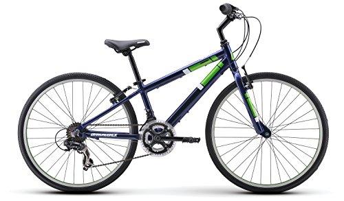 Diamondback Bicycles Insight 24 Kid's Hybrid Bike, 24″ Wheels, Blue