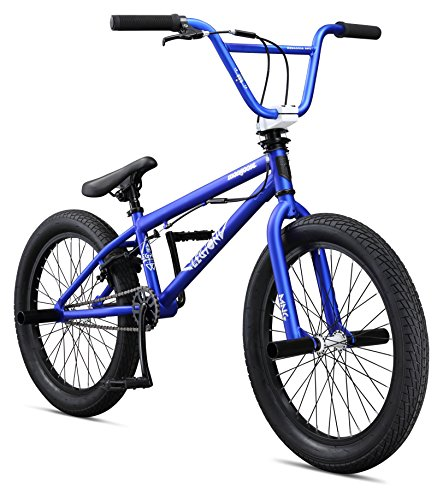 Mongoose Boys Legion L20 Bicycle, Blue, One Size/20″