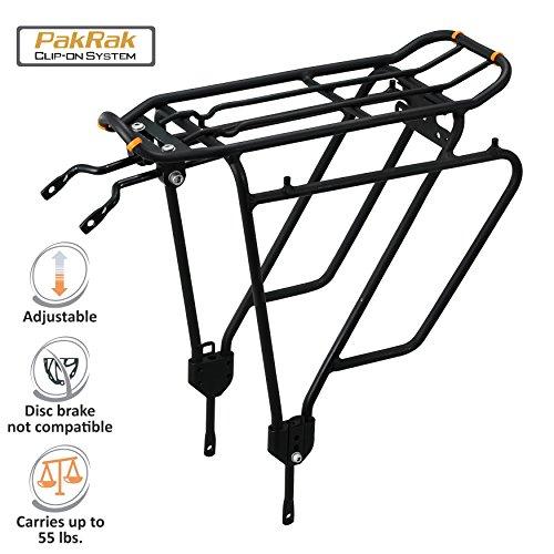 Ibera Bike Rack – Bicycle Touring Carrier Plus+ for Non-Disc Brake Mount, Frame-Mounted fo ...