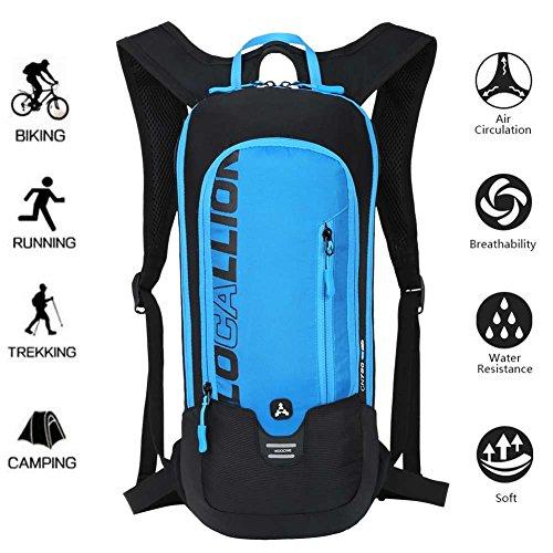 LOCALLION Cycling Backpack Biking Backpack Riding Daypack Bike Rucksack Breathable Lightweight f ...