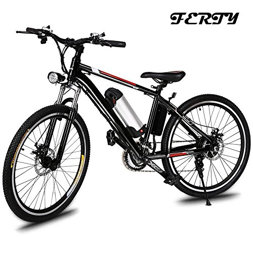 Ferty 2018 New Electric Mountain Bicycle with Removable Large Capacity Lithium-Ion Battery Speed ...
