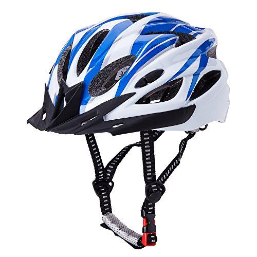 CCTRO Adult Cycling Bike Helmet, Eco-Friendly Adjustable Trinity Men Women Mountain Bicycle Road ...