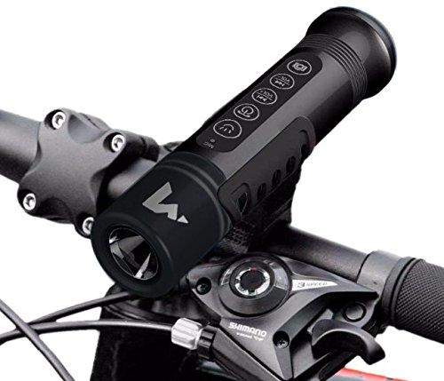 Bike Flashlight Bluetooth Speaker Thats Wireless Waterproof And Mounts on Bicycles Premium Sound ...