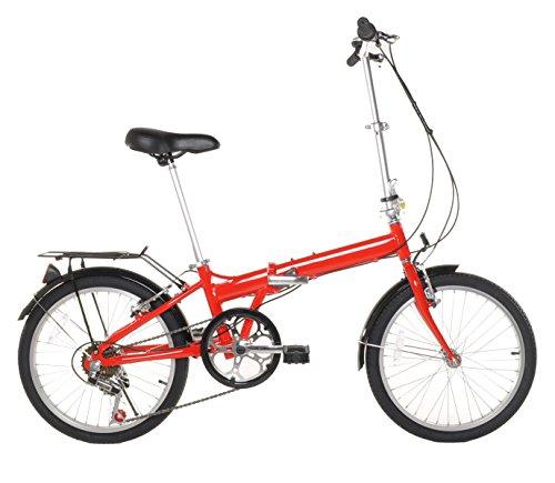 20″ Lightweight Aluminum Folding Bike Foldable Bicycle