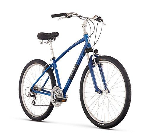 Raleigh Bikes Venture 4.0 Comfort Bike, Blue, 19″/Large