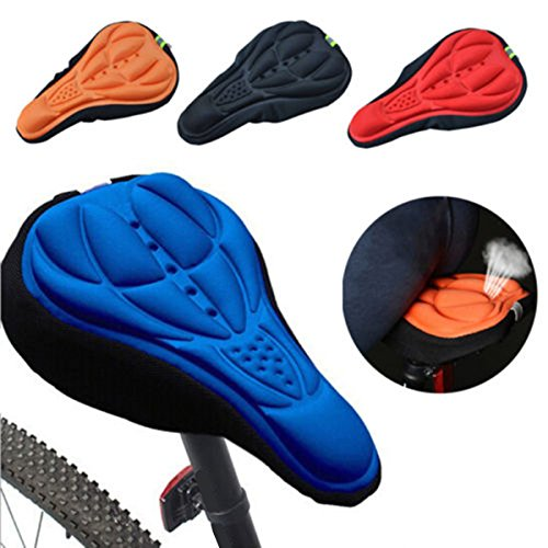 Parts & Components – Outdoor Cycling 3d Bicycle Silicone Gel Pad Seat Saddle Cover Sof ...