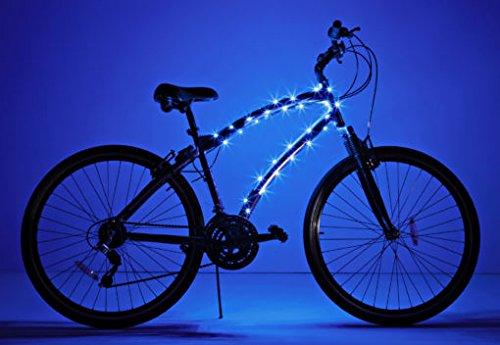 Brightz, Ltd. Cosmic Brightz LED Bicycle Frame Light, Blue