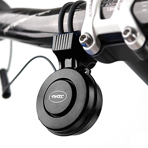 Mini Electric Bike Bell Electronic Bicycle Horn | Rechargeable | Waterproof | Loud Volume | 3 Ho ...