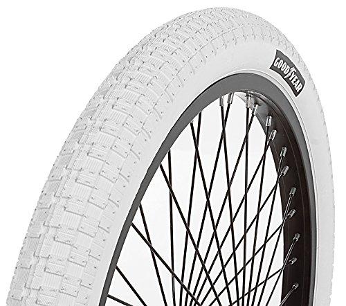 Goodyear Folding Bead BMX Bike Tire, 20″ x 2.125″, White