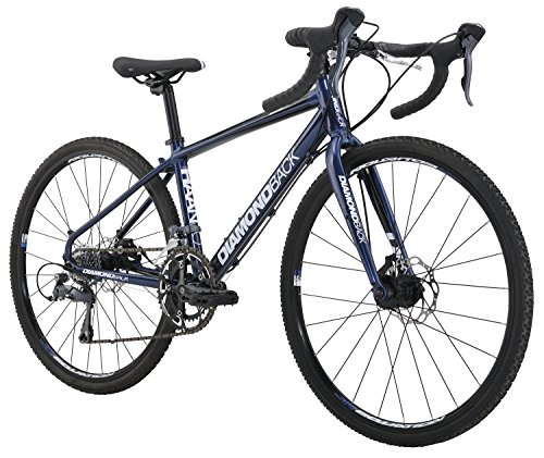 Diamondback Bicycles Youth Haanjo Trail Complete Alternative Road Bike with 24″ Wheels, On ...