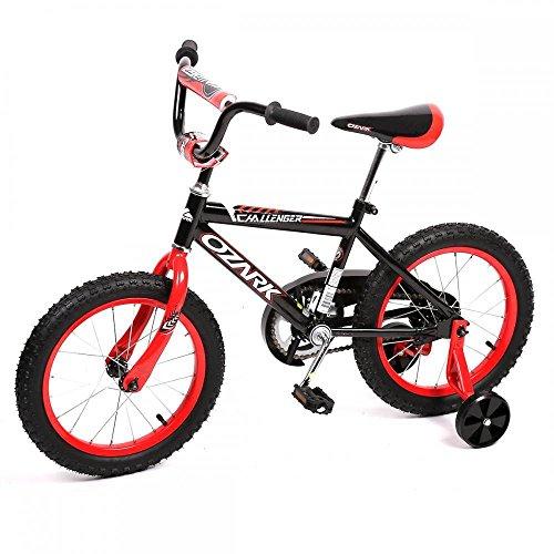 NEW 16″ Steel Frame Children BMX Boy Kids Bike Bicycle With Training Wheels 16B