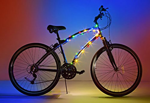 Brightz, Ltd. Cosmic Brightz LED Bicycle Frame Light, Multicolor