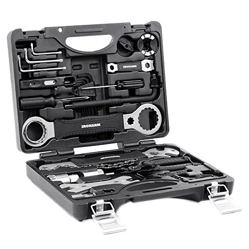 Best Value Professional Bicycle Tool Kit – IRONARM Professional Tool Kit. Good Bicycle Rep ...