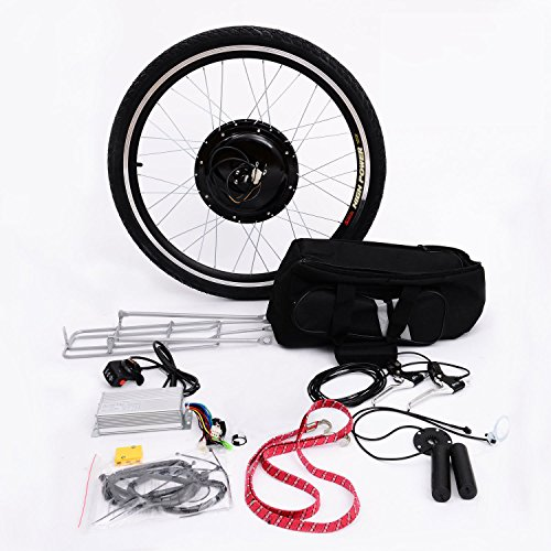Aosom 26″ Rear Wheel 48V 1000W Electric Battery Powered Bicycle Motor Conversion Kit