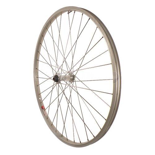 Sta-Tru Silver Alloy ATB Hub Quick Release Front Wheel (26X1.5-Inch)